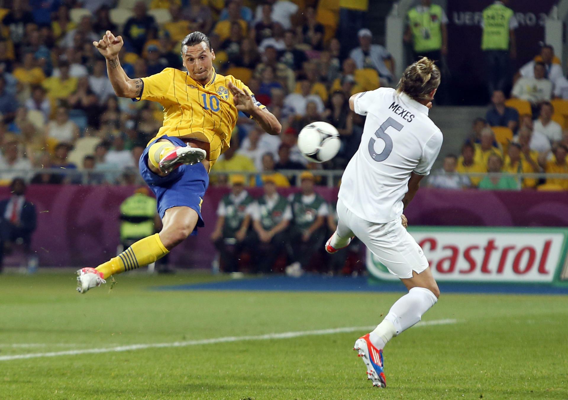 Zlatan Ibrahimovic Taekwondo Fallrückzieher Gegen England