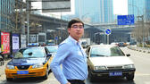 Mitgründer und CEO der Taxi-App  Didi. picture alliance/Photo wu - Imaginechina