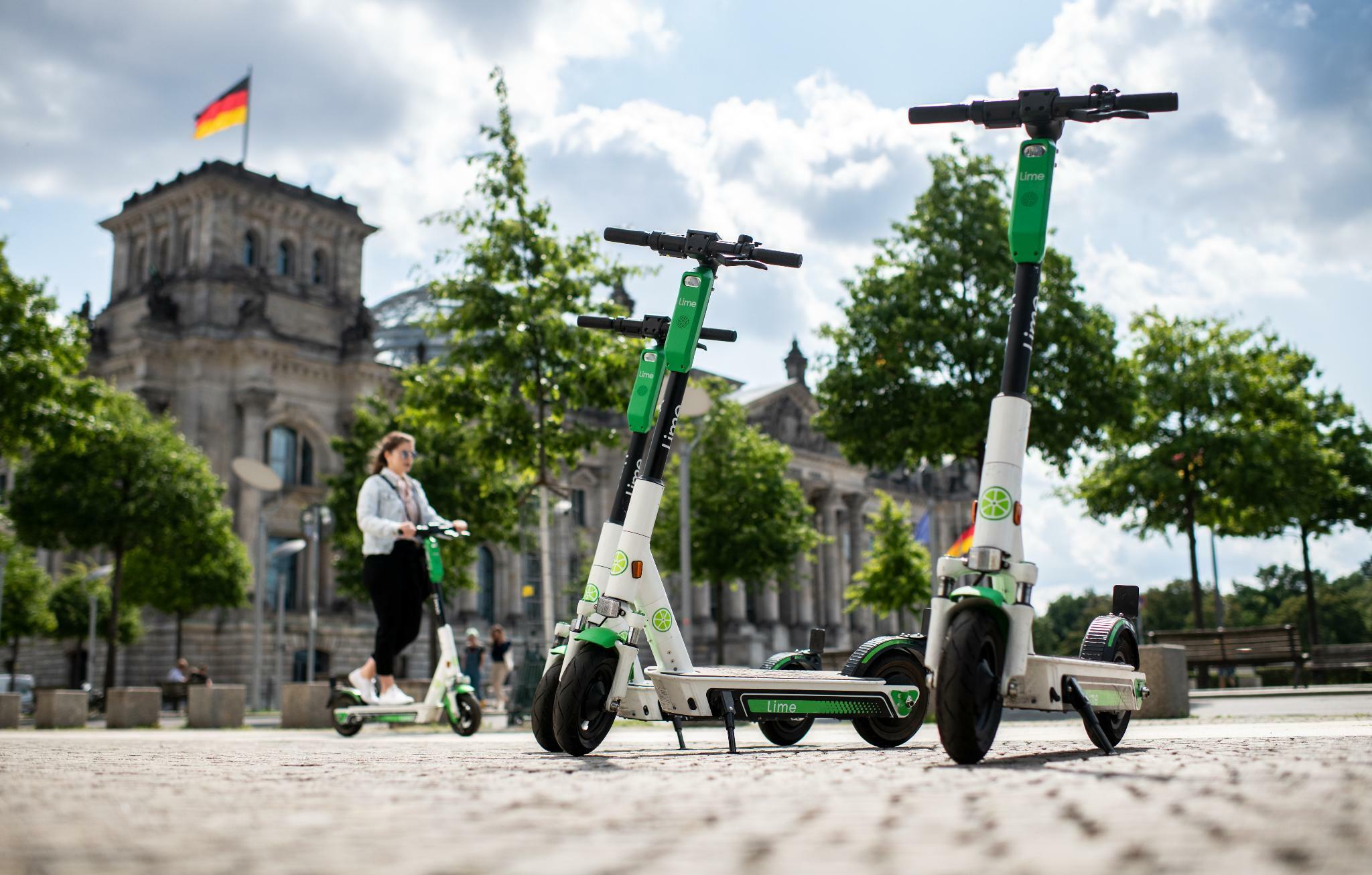 Lime expandiert in sieben weitere deutsche Städte