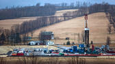 Fracking ist in den USA in aller Munde, etwa hier in Troy in Pennsylvania. dpa
