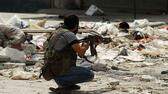 Rebellen in Aleppo. Reuters