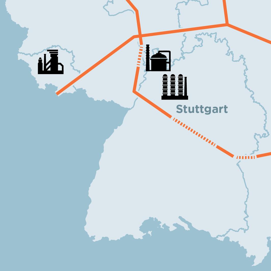 Wasserstoff: Gasnetzbetreiber legen Plan für Wasserstoffnetz vor