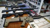 "Guns for sale are displayed in Roseburg Gun Shop in Roseburg, Oregon, United States, October 3, 2015. Christopher Harper-Mercer, the gunman slain by police after he killed his English professor and eight others at an Oregon college, was once turned away from a firearms academy by an instructor who recalled finding him ""weird"" and ""a little bit too anxious"" for high-level weapons training. REUTERS/Lucy Nicholson Reuters"