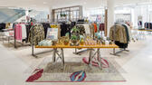 The interior of the new Hudson's Bay retail store in Amsterdam, Netherlands is shown in this undated handout photo provided September 4, 2017. Courtesy of Hudson's Bay/Handout via REUTERS ATTENTION EDITORS - THIS IMAGE WAS PROVIDED BY A THIRD PARTY NO RESALES. NO ARCHIVE Reuters