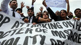 Proteste gegen das Islam-Video in Pakistan. AFP