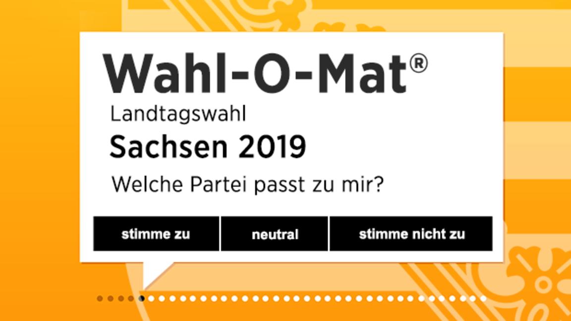 wahlomat landtagswahl sachsen 2019