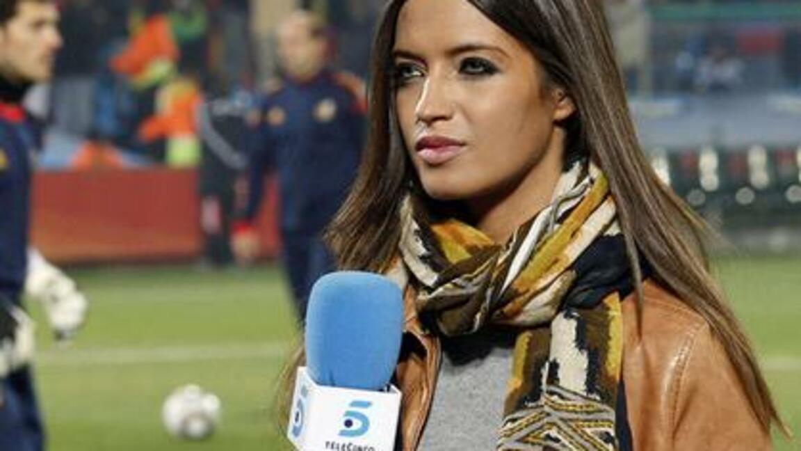 Schone Tv Sportreporterin Casillas Freundin Sara Mit Neuem Job