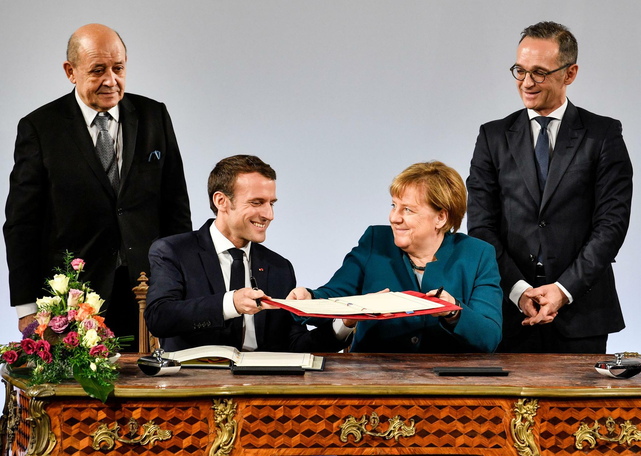 Der Aachener Vertrag Viel Pathos Wenig Verbindliches
