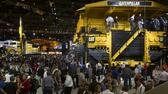 Caterpillar-Baumaschinen auf der MINExpo International 2012 in Las Vegas. Reuters