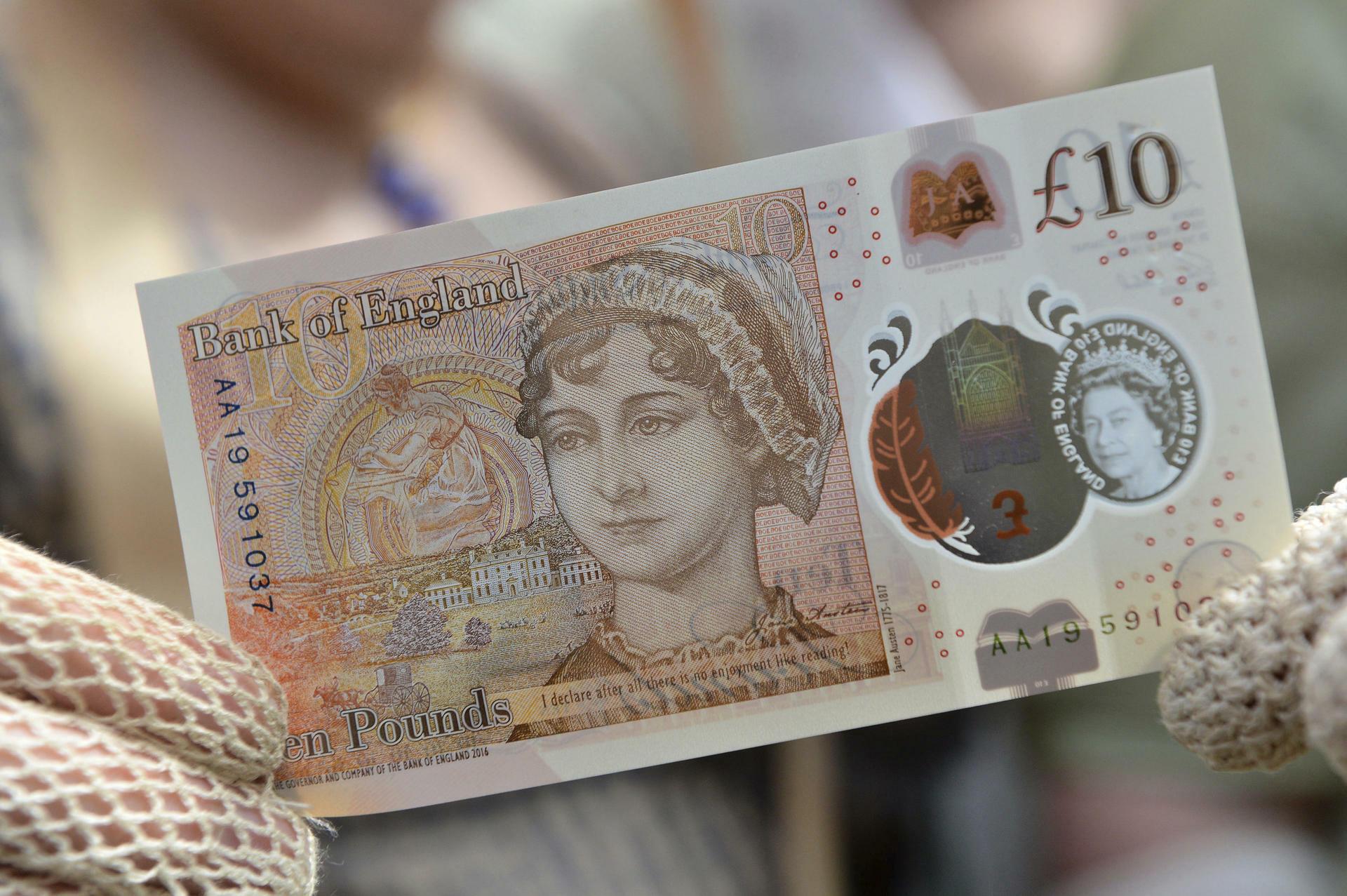 Die Banknoten von england