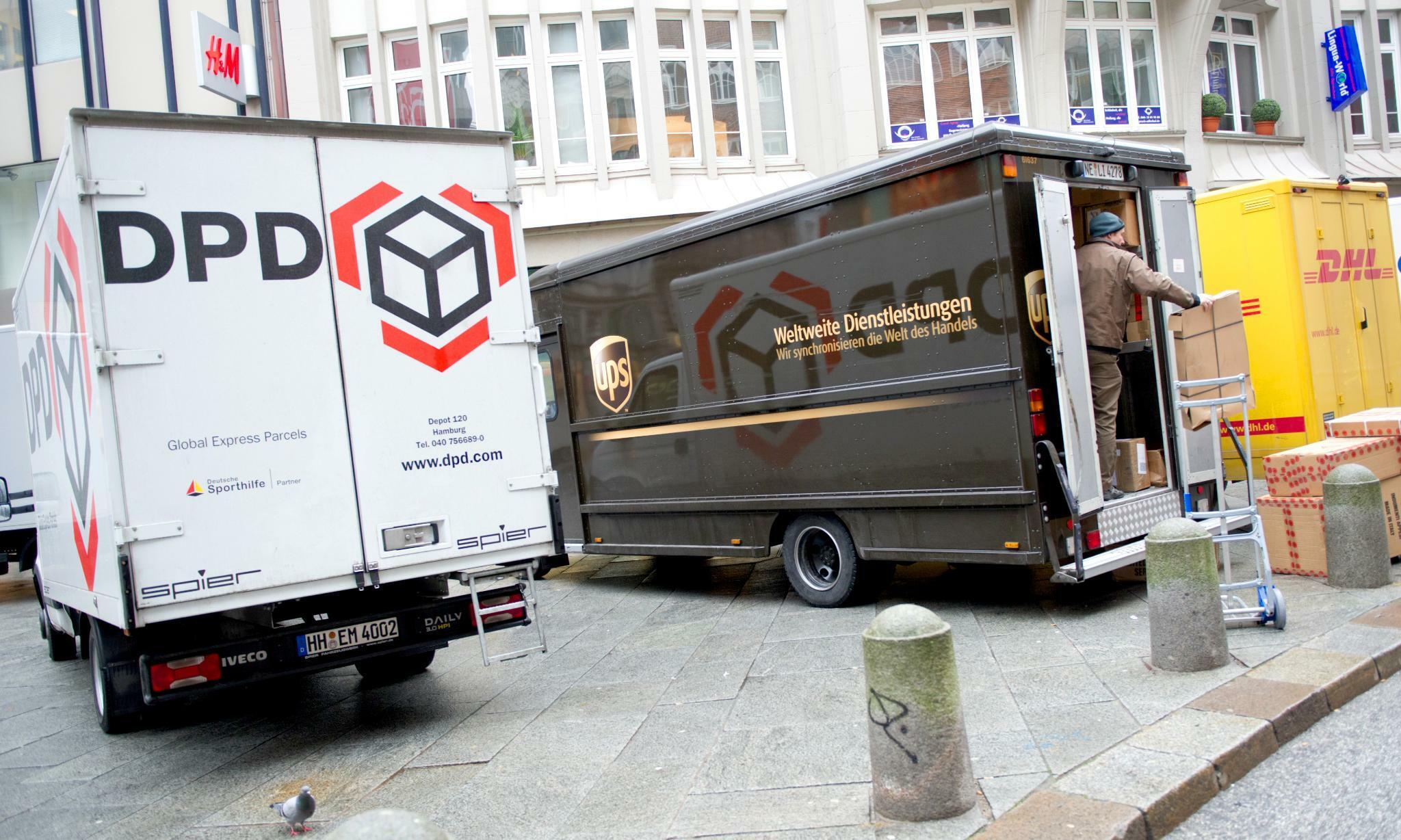 Paketzustellung Weihnachten 2019.Dhl Und Co Vor Weihnachten Droht In Städten Der Verkehrskollaps