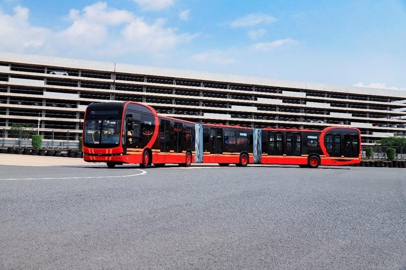 BYD K12A - China baut den längsten E-Bus der Welt