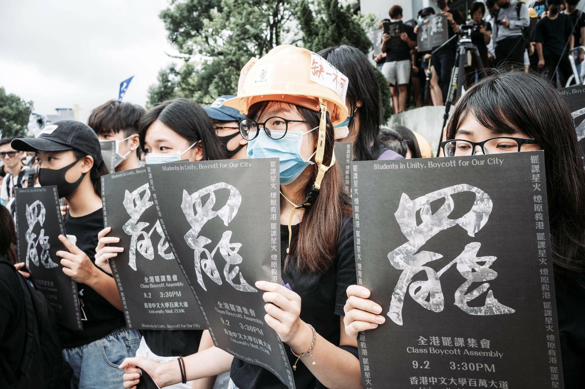 Hongkong: Unternehmen geraten den Sog des Konflikts