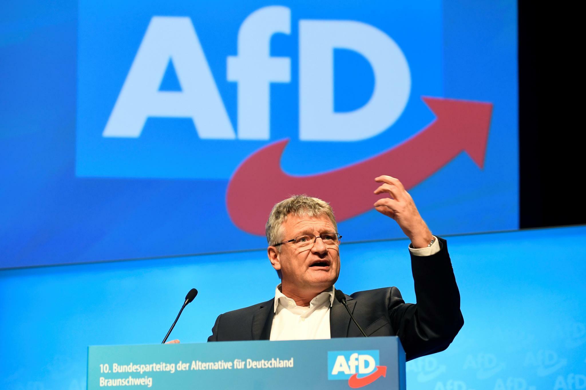 Rentendebatte: Höcke-Flügel attackiert AfD-Chef Meuthen