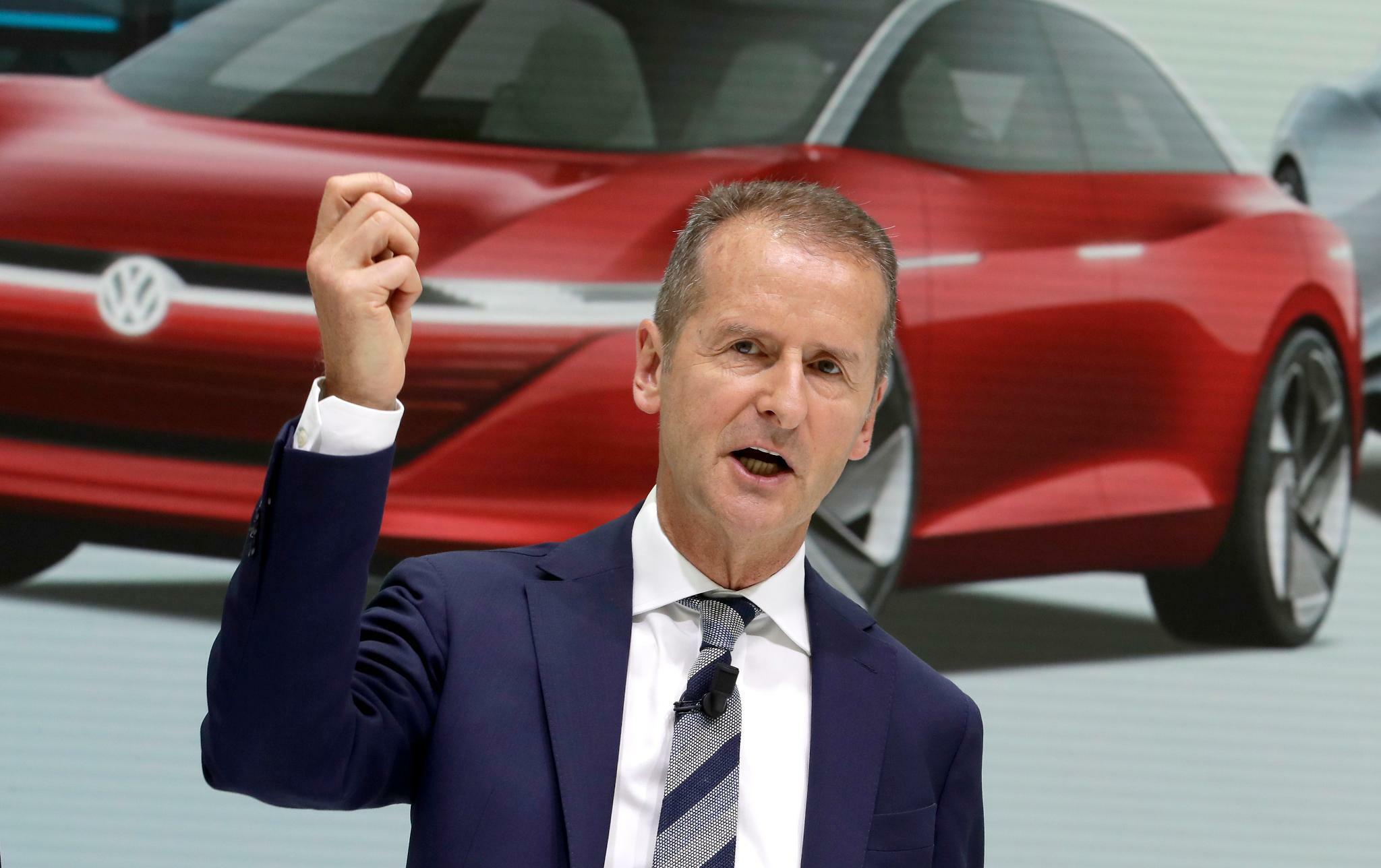 """VW-Chef Diess: """"Wenn wir in diesem Tempo weitermachen, wird es eng"""""""